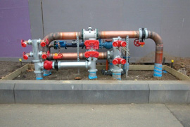 2000m of 375mm Combined Hydrant / Sprinkler